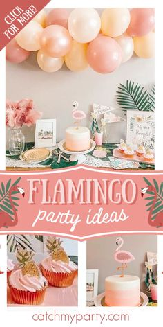 Take a look at this fabulous flamingo bachelorette party! The cake will blow you away! See more party ideas and share yours at CatchMyParty.com #catchmyparty #partyideas #flmaingos #flamingoparty #bachelorette Pink Flamingo Party, Flamingo Birthday, Tropical Party Foods, Summer Birthday, Birthday Ideas, Hawaiian Luau Party, Bridal Shower Party, Childrens Party, Party Planning