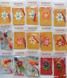 Carton   Talente de Năzdrăvani - Part 3 8 Martie, Spring Activities, School Lessons, Quilling, Little Ones, Centre, Diy And Crafts, Projects To Try, Handmade