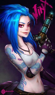 League of Legends | Jinx byDaemonStar