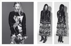 Ad Campaign: Amanda Seyfried and Carine Rotfield for Givenchy Fall 2013