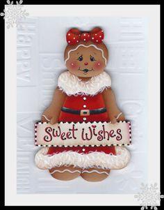Gingerbread Sweet Wishes Painting EPattern by GingerbreadCuties, $4.00