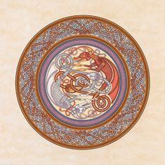 Dragon Shield Celtic