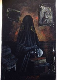 "Alan Brown illustration inspired by M. R. James's ""Number 13""."