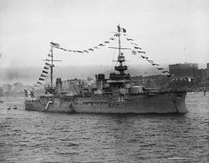 Vérité was a pre-dreadnought battleship of the Liberté class built by the French Navy. She had three sister ships: Liberté, Justice, and Démocratie. Vérité was laid down in April 1903, launched in May 1907, and completed in June 1908, over a year after the revolutionary British battleship HMS Dreadnought made ships like Vérité obsolete. She was armed with a main battery of four 305 mm (12.0 in) guns, compared to the ten guns of the same caliber mounted on Dreadnought.