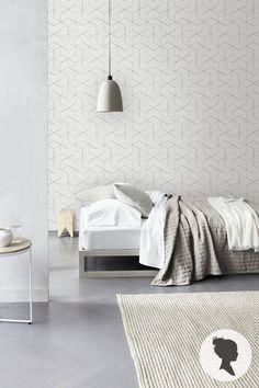 Wallpaper Wednesday: Etsy Cube Self Adhesive Wallpaper - Love Chic Living