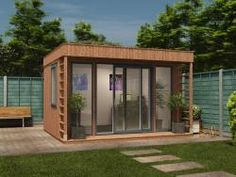 Explore these insulated garden buildings ideas and useful tips. For the wonderful ideas browse through the down below given pictures. Garden Office Uk, Backyard Office, Backyard Studio, Backyard Sheds, Garden Huts, Garden Cabins, Insulated Garden Room, Garden Buildings, Wooden Garden