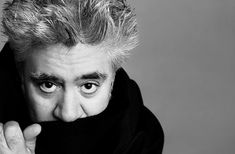 Pedro Almodóvar is branching out. And while his next film will be I'm So Excited, a comedy that appears to harken back to his earliest work, he's not done… Robert Pattinson, Film Dc, Joel And Ethan Coen, Famous Directors, Harry Et Meghan, Ryan Gosling, Film School, Portraits, Movie List