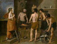 La fragua de Vulcano - Velázquez- Colección - Museo Nacional del Prado