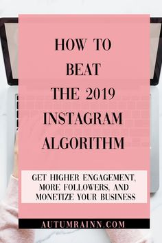 How to Beat the Instagram Algorithm 2019. How to deal with the constantly changing Instagram algorithm and get your posts seen and how to monetize your brand! Also includes a FREEBIE DOWNLOAD of the top hashtags you should be using as a blogger!   Autum Rainn   First Instagram Post, New Instagram, Instagram Accounts, Instagram Story, Instagram Posts, Get Post, Some People Say, Instagram Influencer, Social Media Influencer
