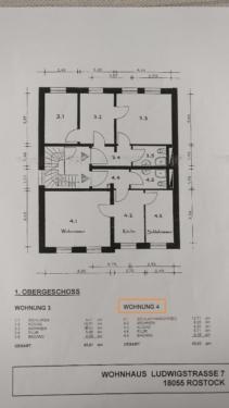 1,5 Zimmerwohnung im Bahnhofsviertel ab 01.10.17 zu vermieten in Rostock - Stadtmitte | eBay Kleinanzeigen