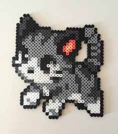 Meow. Who doesnt love a cute little kitty? Made with high-quality Perler beads, get one or both. They come individually or you can get the complete set! **This item is readymade and will be shipped within 1-2 business days. Feel free to ask any questions and I will do my best to