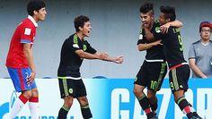 La selección sub 17 de México goleó hoy a la de Chile por 4-1 y obtuvo la clasificación para los cuartos de final del Mundial de la categoría, donde se enfrentará con el ganador del duelo de este jueves entre Rusia y Ecuador. Octubre 28, 2015.