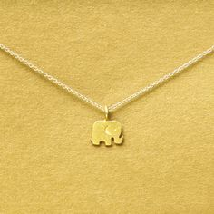 Lucky Elephant Necklace for the Elephant Lover! You're going to love this unique design. Your friends will be jealous and will ask you where you got such a good deal. If you want to help us support Sa