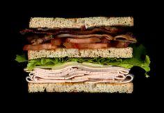 The Club: Bacon, tomato, lettuce. turkey, Swiss cheese, mayo on toast