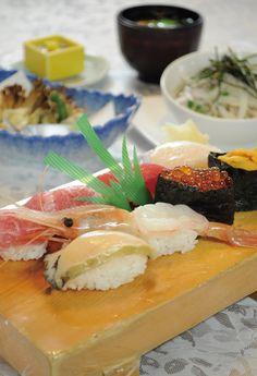 青森国際ホテル 青森空港2階「和食処 ひば」旬の本鮪にぎり鮨