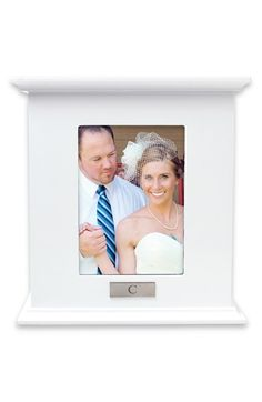 Cathy's Concepts Personalized Card Holder Box - White