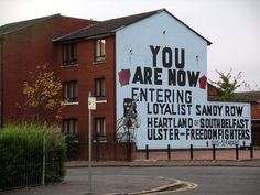 Belfast, Ireland. Can't wait to go...so many awesome wall murals.