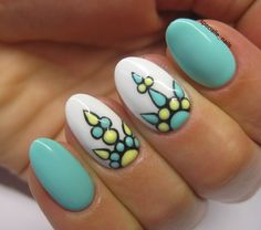 Mintornament nail art by specialle