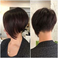 Short Layered Haircuts Thick Hair It's high time to look gorgeous and try a fresh new hairstyle. Here is a list of fabulous New Short Layered Hairstyles that will upgrade your look perfectly. Short Hairstyles For Thick Hair, Short Brown Hair, Haircut For Thick Hair, Very Short Hair, Short Hair With Layers, Short Hair Cuts, Curly Hair Styles, Short Blonde, Long Hair