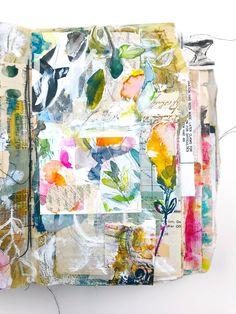 Gallery of Artwork — Roben-Marie Smith - The Official Website of Tech-Savvy Artist Roben-Marie Smith Collage Art Mixed Media, Handmade Books, Art Journal Inspiration, Botanical Art, Medium Art, Art Tutorials, Art Projects, Tech, Art Journaling