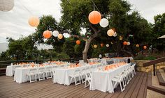 Decofilia Blog | Decoración de bodas al aire libre