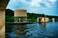 Kaluga Floating Sauna | Rintala Eggertsson Architects | Kaluga, Russian Federation | 2010