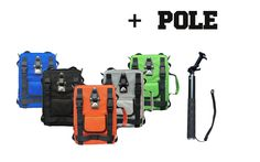 GIPFLbag It's so much more than a bag!   Tripod, Backpack ect.. Can be fitted with pole , speaker, powerbank, GoPro®, hydration bladder