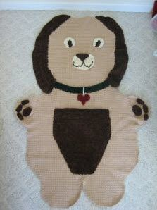 I think if a kid is going to get attached to a blanket, it would be this one. Too cute!  pp6761fb7c.jpg