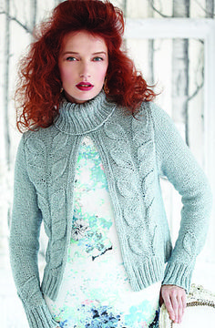 Open Front Pullover pattern by Berroco Design Team