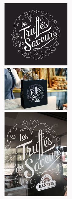 Samantha Kerdine on Behance Painted Letters, Painted Signs, Chalk Lettering, Painted Cakes, Calligraphy Letters, Love Signs, Saveur, Painting Tips, Packaging Design