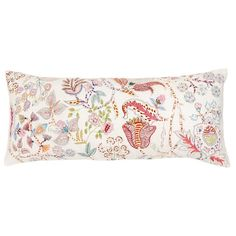 Pine Cone Hill Mirabelle Embroidered Double Boudoir Pillow