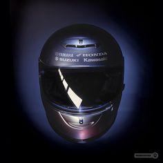 Motorhelmet • Yamaha Honda Suzuki Kawasaki