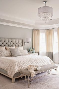 Copy Cat Chic: Copy Cat Chic Room Redo | Soft Gray Bedroom