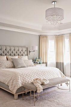 Copy Cat Chic: Copy Cat Chic Room Redo | Soft Gray Bedroom