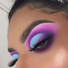 5 Mar 2020 - 43 Hottest Eye Makeup Looks For Day And Evening - eye make up, eye shadow - Makeup - Makeup Eye Looks, Dramatic Eye Makeup, Eye Makeup Art, Colorful Eye Makeup, Cute Makeup, Skin Makeup, Makeup Inspo, Eyeshadow Makeup, Pink Eyeshadow
