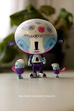 Custom Toys by Mar Hernandez, via Behance