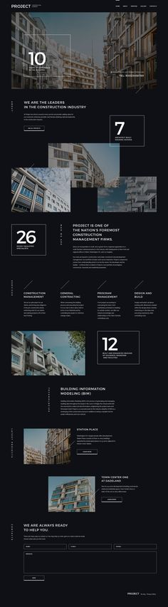 Construction Company Responsive Website Template by Rick Hermanussen #57947