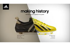 adidas shoe sneaker football soccer cleats split screen montage vertical line transformation edit editing