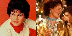 Patsy Cline played by Jessica  Lange
