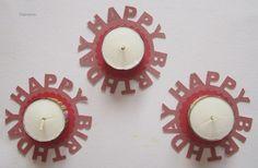Happy Birthday Teelicht