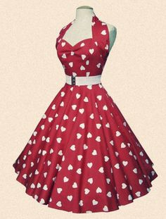 50's fashion. I love it.