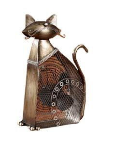 Let this charming Cat Shaped Decorative Figurine Fan brighten your day while it keeps you cool. High quality cast metal construction, this unique fan is made with top-quality 30-watt copper-spun motors and is an ideal to make any space more comfortable. With its decorative appeal, a Figurine Fan can easily become a permanent part of any desk, vanity, bedroom, kitchen, or bathroom decor, adding a decorative dimension and making it easily accessible for frequent use. From San Diego based…