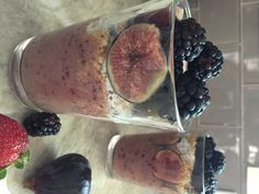 Blackberry Fig Chia Pudding