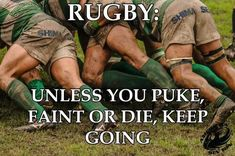 Rugby The concept of sport is a procedure that emerges with the Rugby Sport, Rugby Club, Womens Rugby, Rugby Men, Rugby League, Rugby Players, Rugby Rules, Rugby Workout, Rugby Funny