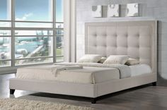 Wholesale Interiors Hirst Upholstered Panel Bed | AllModern