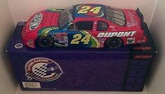 cool 2000 Jeff Gordon Signed DUPONT STAIN MASTER CARPET NASCAR 1/24 Diecast Auto Car - Autographed Diecast Cars
