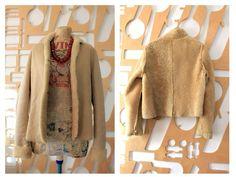 Shearling Jacket, Fur Jacket, Suede Coat, Fur Coat, Hipster Jackets, Dirndl Blouse, Sheepskin Jacket, Boho Clothing, Vintage Wardrobe