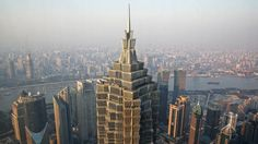 The tallest buildings in the world (for now) 21. Jin Mao Tower, Shanghai (1,380 feet)