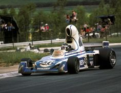 Jacques Laffite in the notoriously ugly Ligier JS5