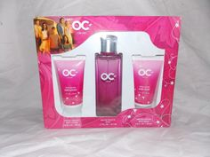 The OC For Her Fragrance Gift Collection RARE EDT Spray 1.7oz, lotion & wash #AMCBeautyWarnerBrothers